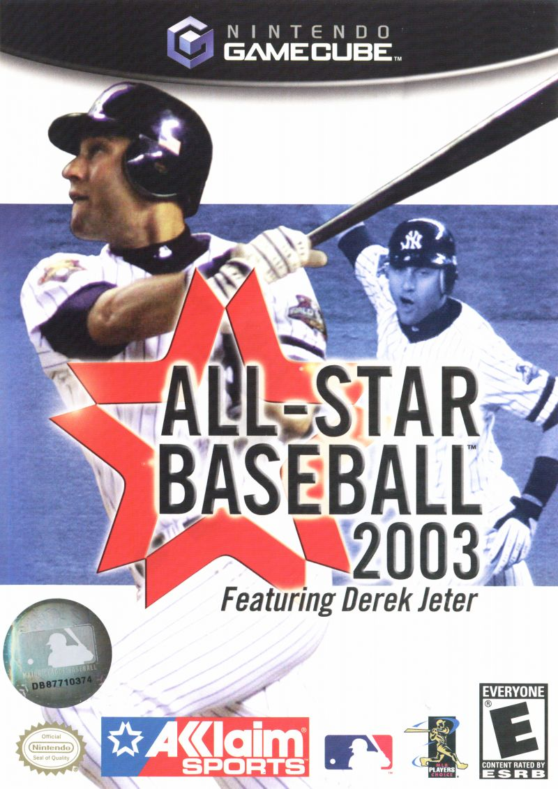 All-Star Baseball 2003 GameCube Front Cover