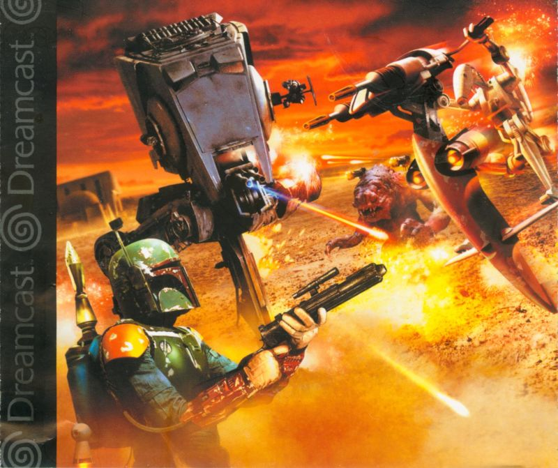 Star Wars: Demolition Dreamcast Inside Cover