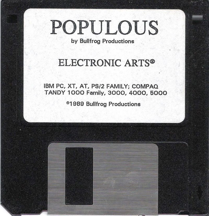 Populous DOS Media Disk (1/1)