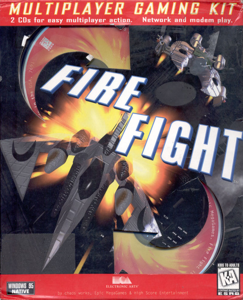 Fire Fight for Windows (1996) - MobyGames