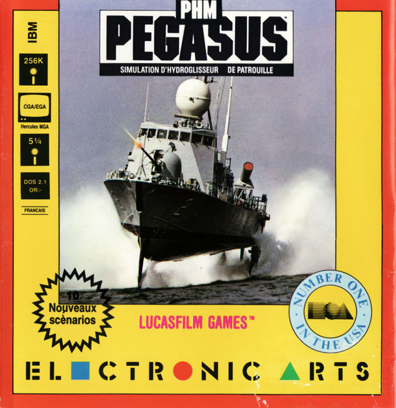 PHM Pegasus DOS Front Cover