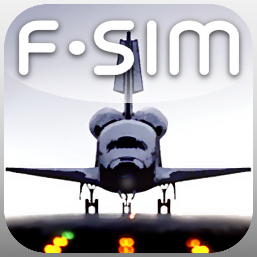 F-SIM Space Shuttle iPad Front Cover