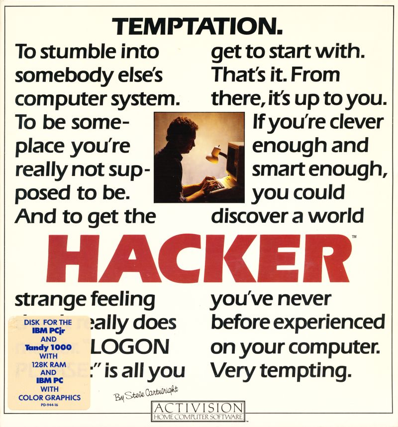 Hacker DOS Front Cover