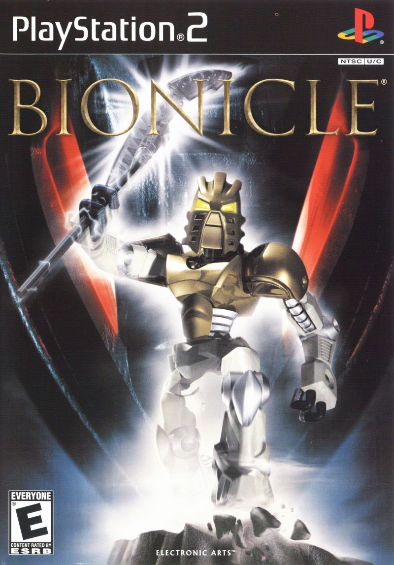 Bionicle PlayStation 2 Front Cover