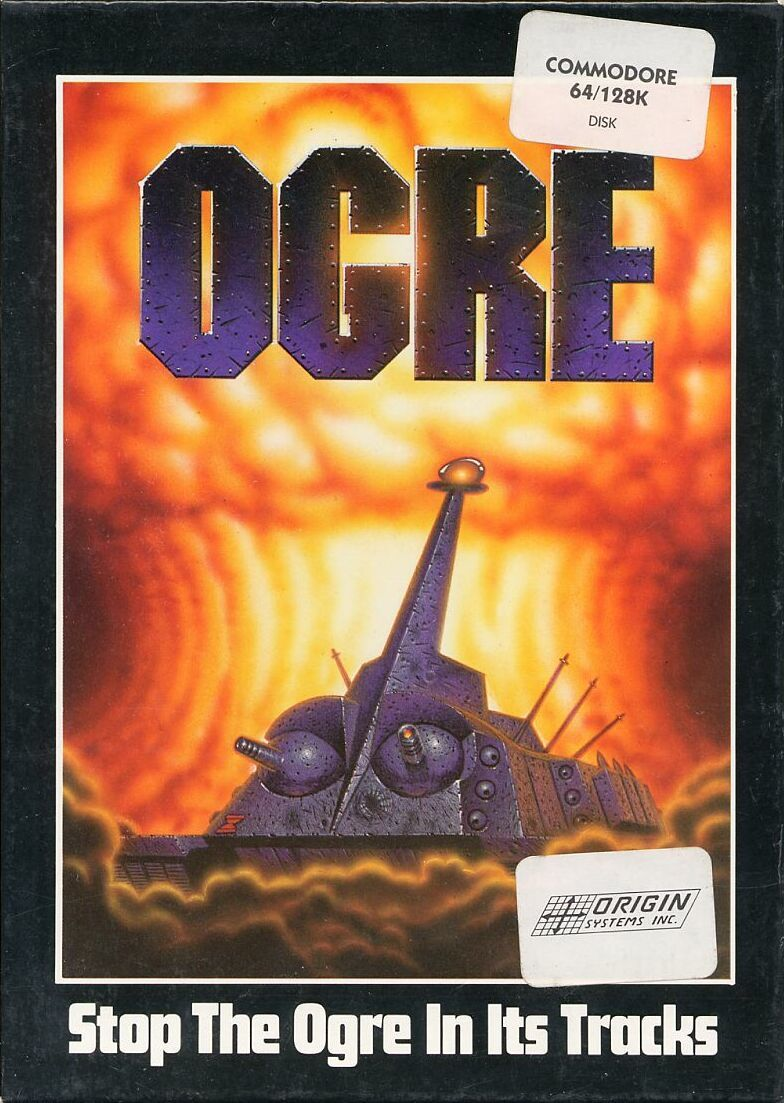 Ogre Commodore 64 Front Cover