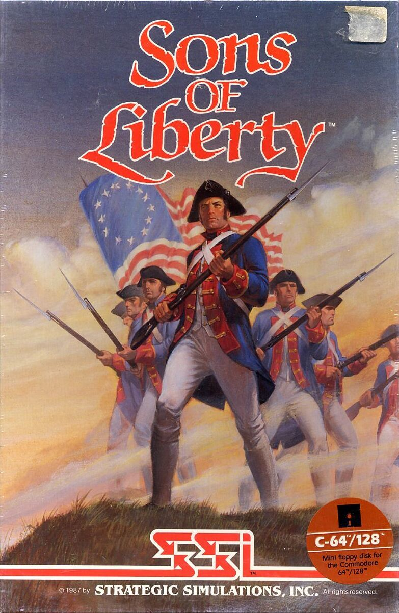 Sons of Liberty Commodore 64 Front Cover