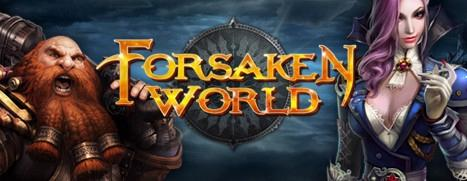 Forsaken World Windows Front Cover