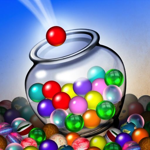 Jar of Marbles iPad Front Cover