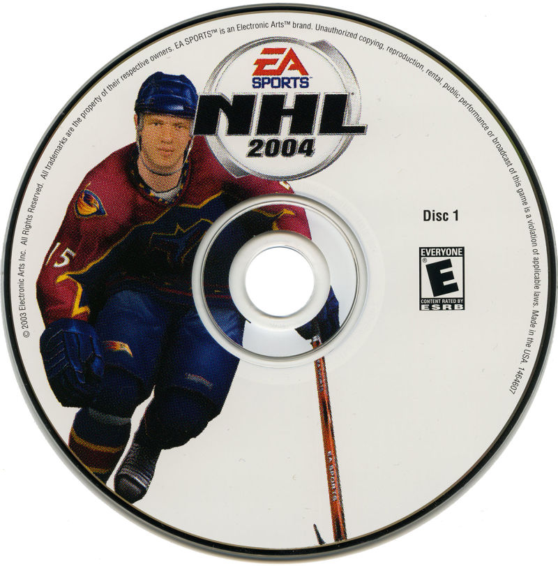 NHL 2004 Windows Media Disc 1