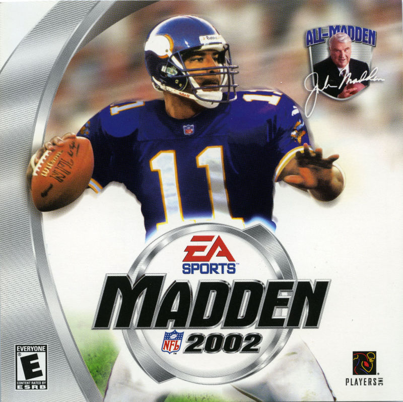 Madden NFL 2002 Windows Other Jewel Case - Front