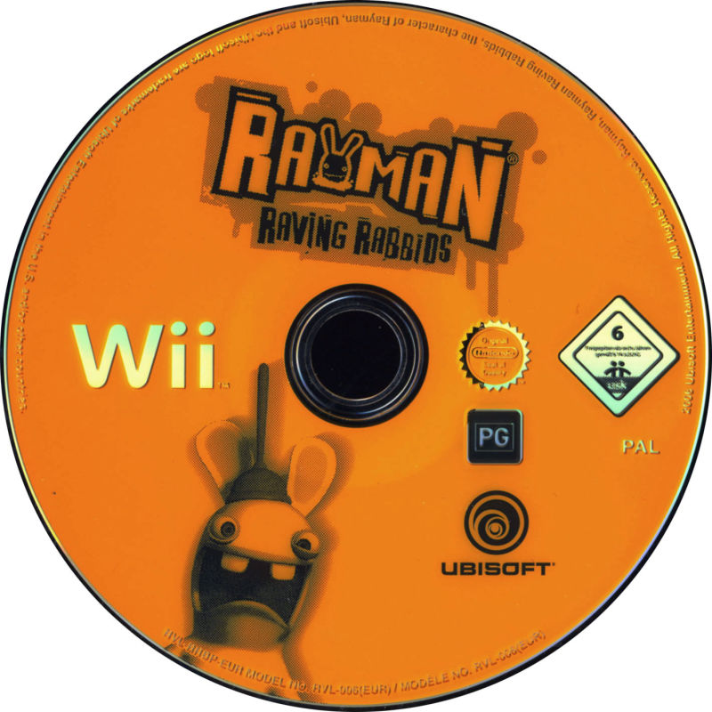 Rayman Raving Rabbids Wii Media