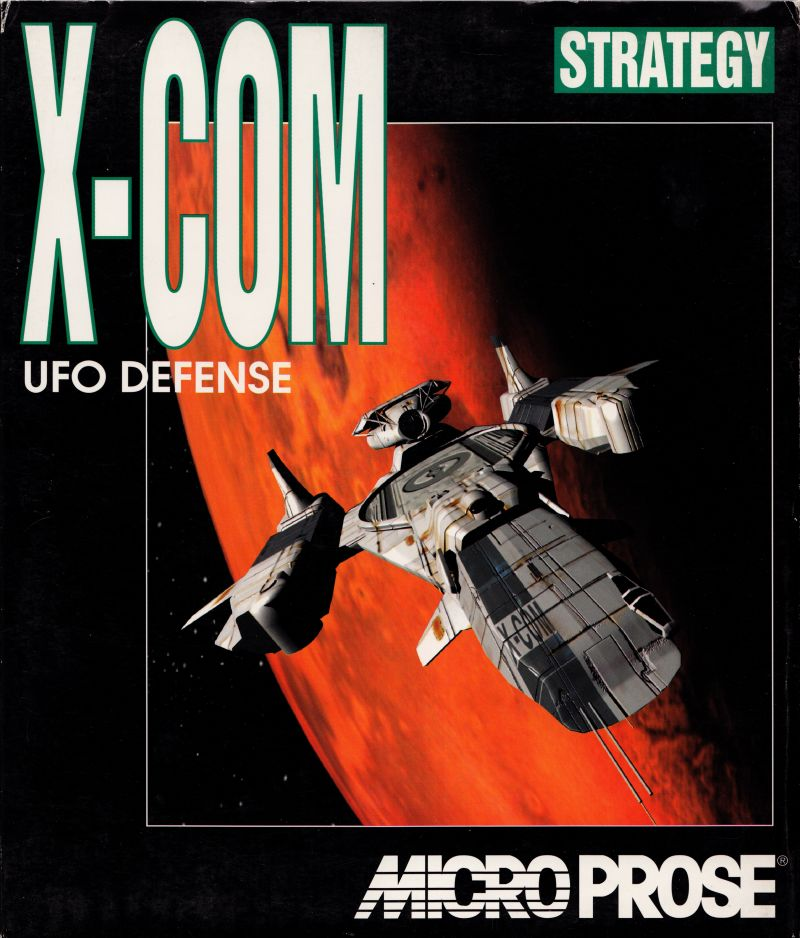 X-COM: UFO Defense DOS Front Cover
