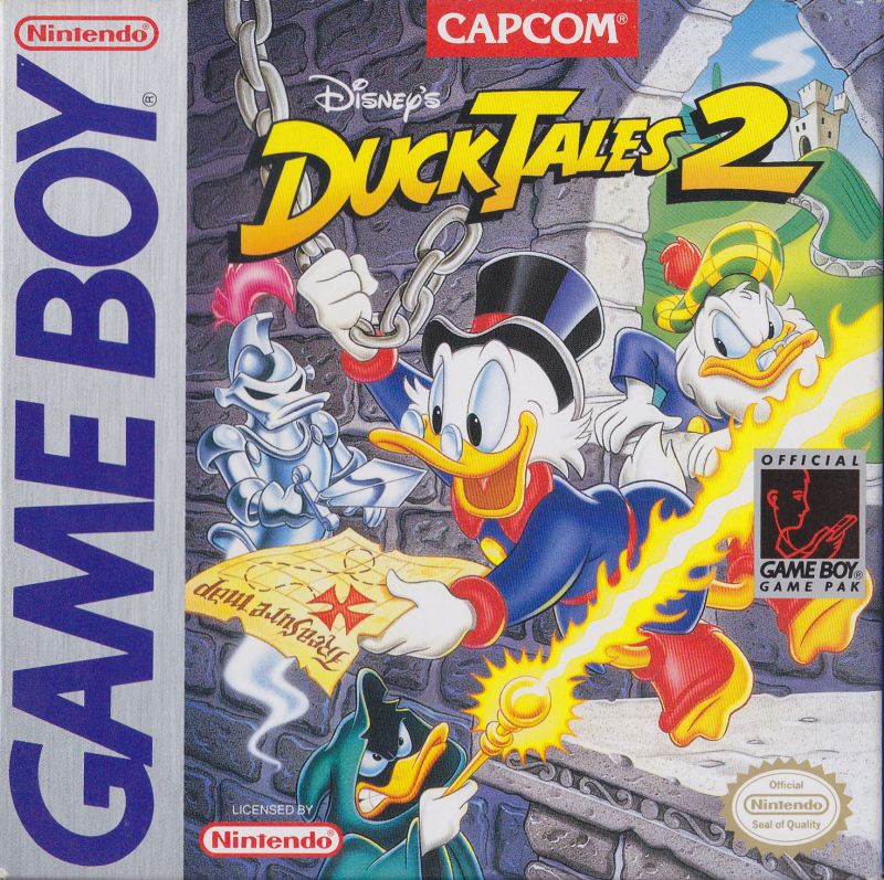 Disney's DuckTales 2 Game Boy Front Cover