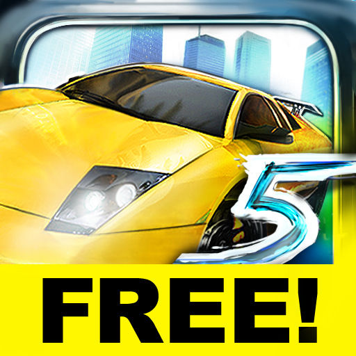 Asphalt 5 iPhone Front Cover