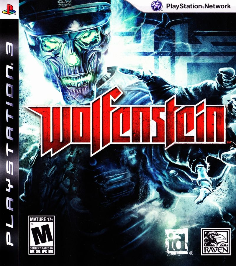 Wolfenstein 2009 Playstation 3 Box Cover Art Mobygames