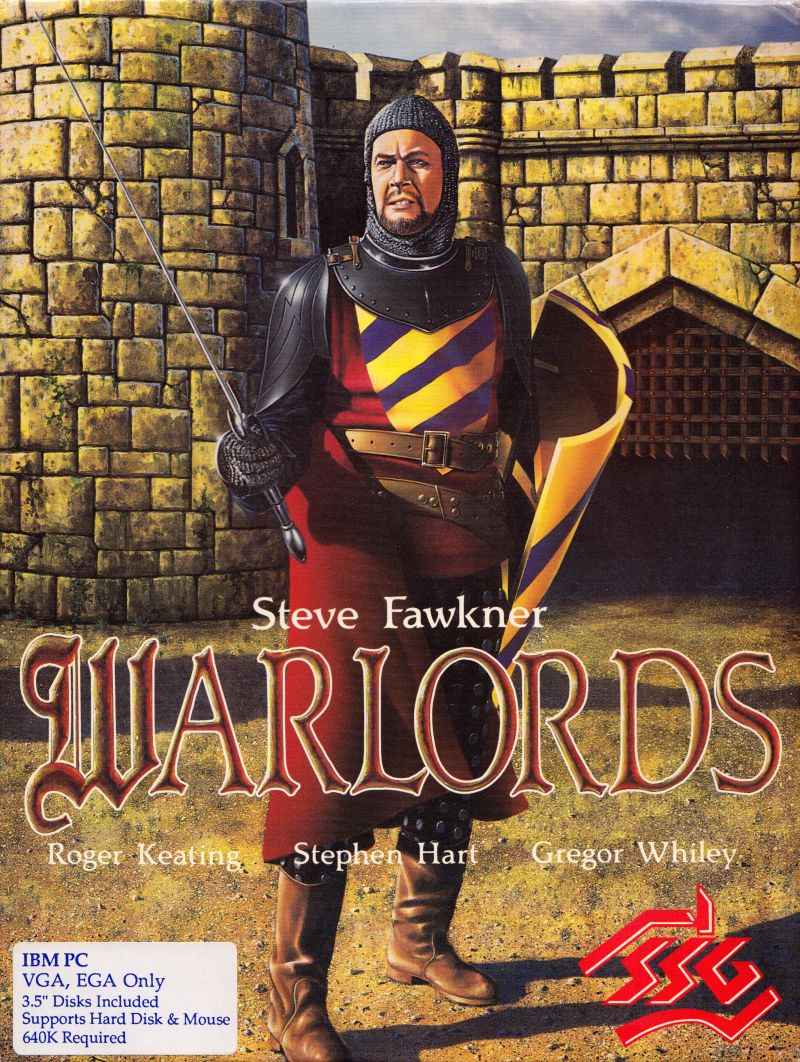 Warlords DOS Front Cover