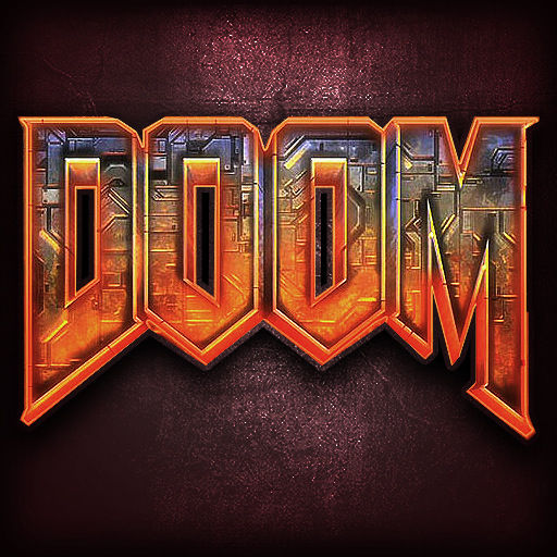 The Ultimate DOOM iPad Front Cover