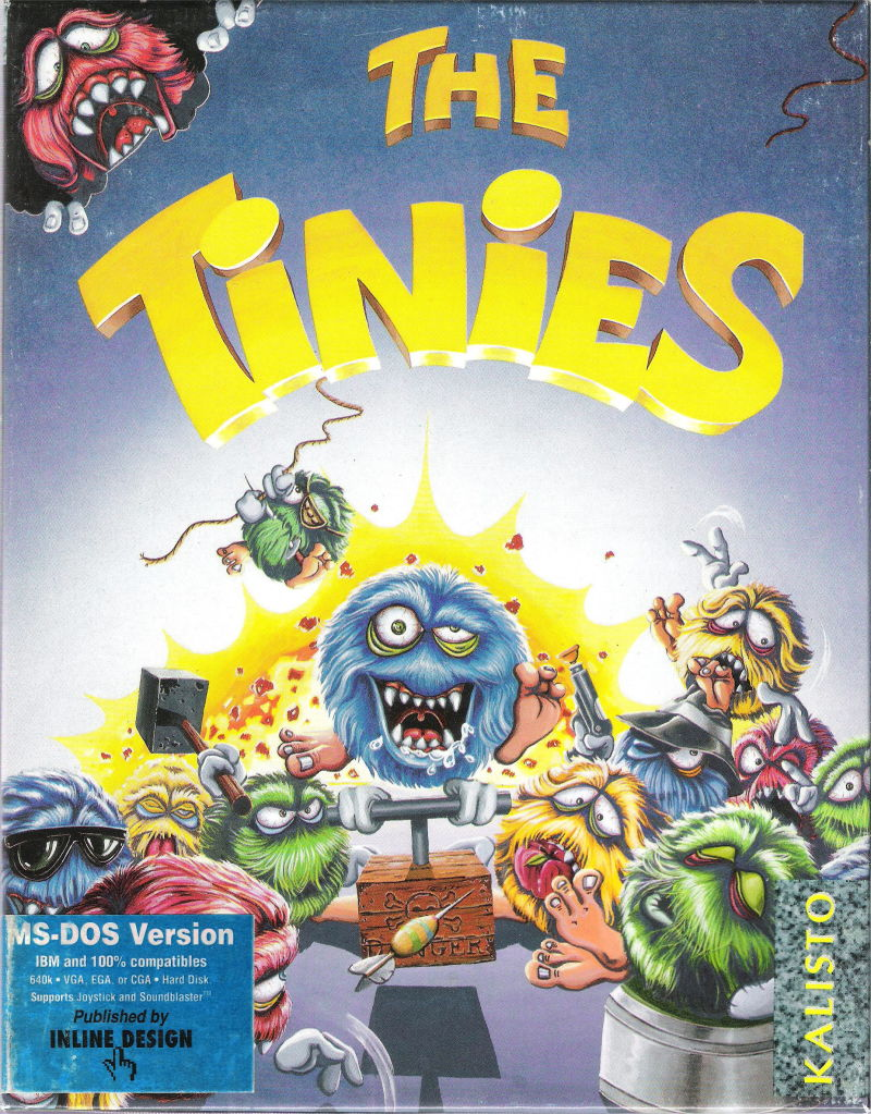 The Brainies DOS Front Cover