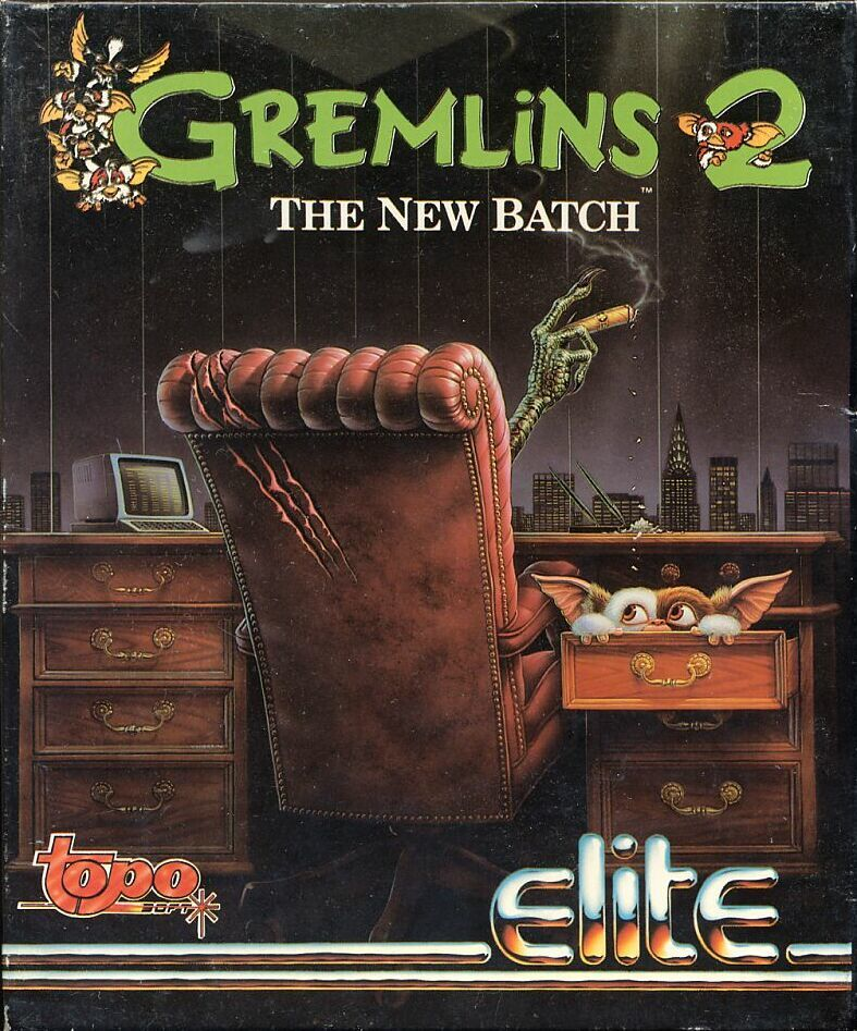 Gremlins 2: The New Batch Commodore 64 Front Cover