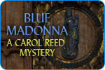 Blue Madonna: A Carol Reed Mystery Windows Front Cover