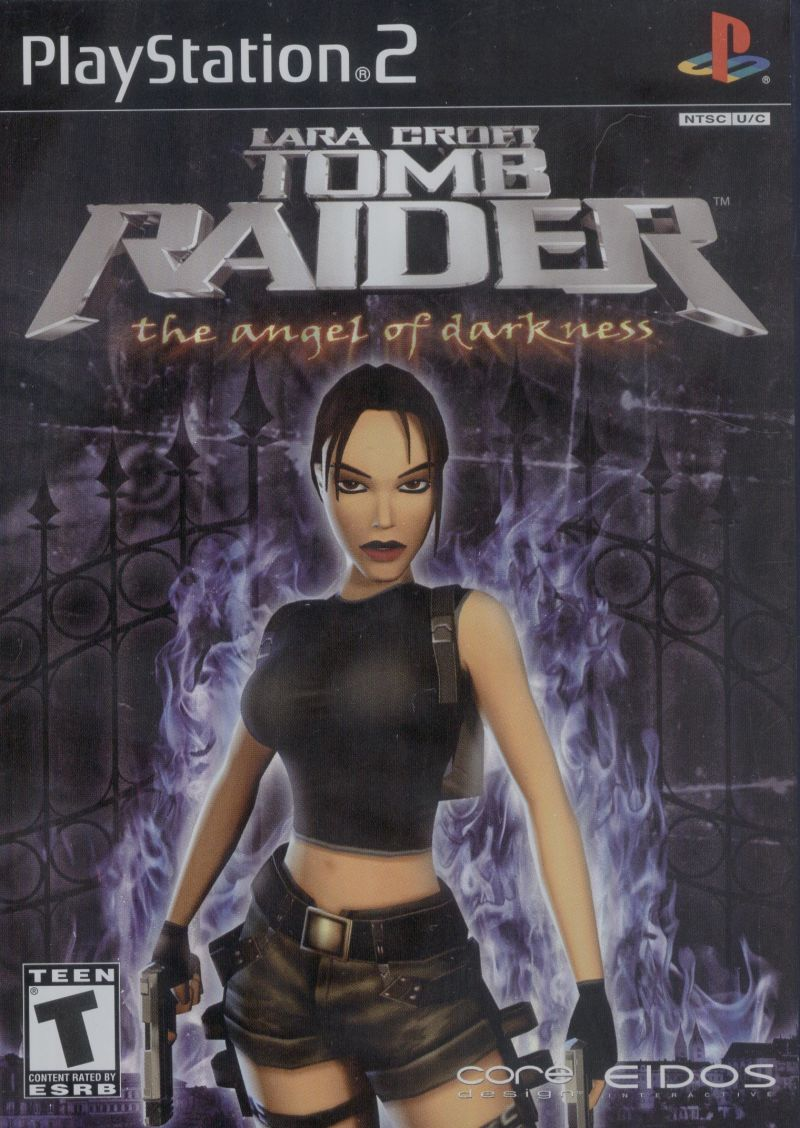 Lara Croft: Tomb Raider - The Angel of Darkness PlayStation 2 Front Cover