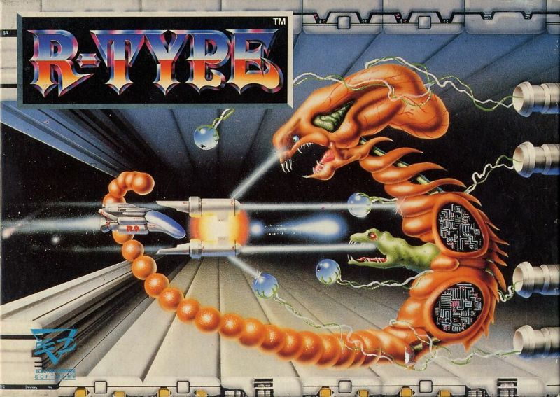 R-Type Commodore 64 Front Cover