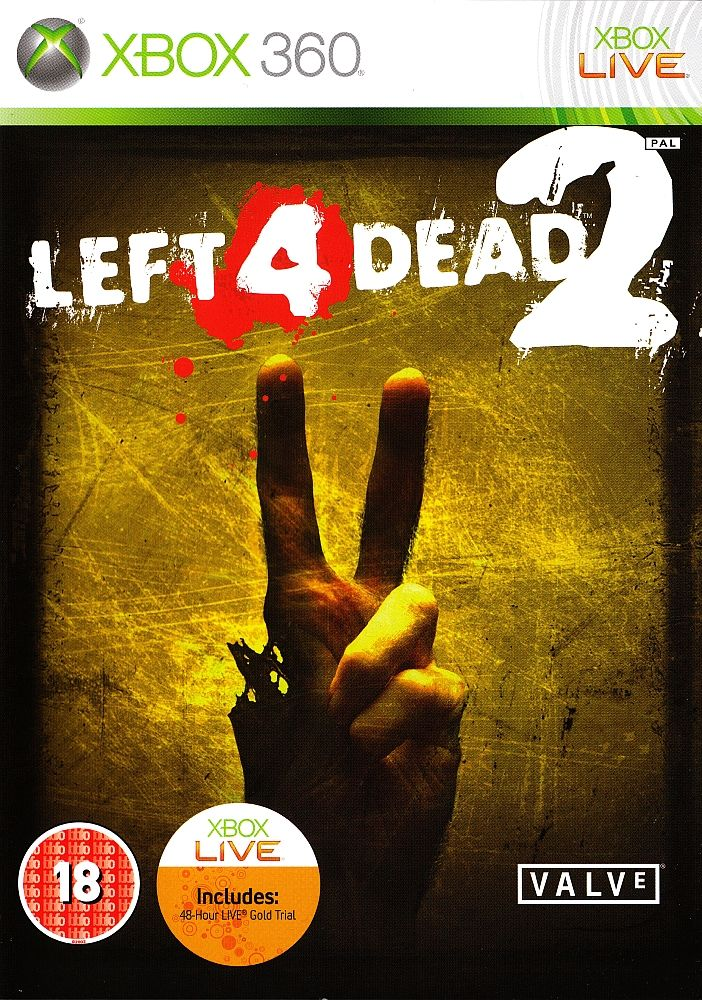 Left 4 Dead 2 Xbox 360 Front Cover