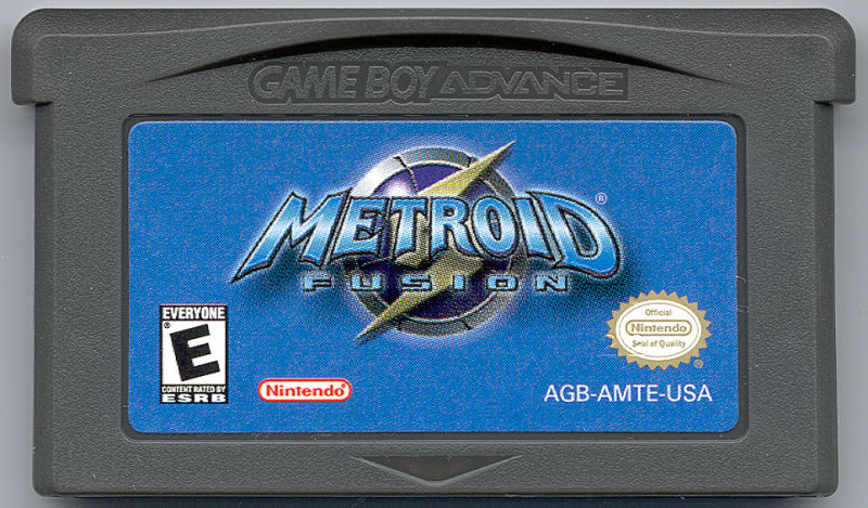 Metroid Fusion Game Boy Advance Media