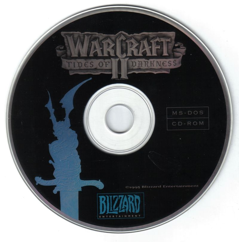 Warcraft II: Battle Chest DOS Media Disc 1 -Warcraft II