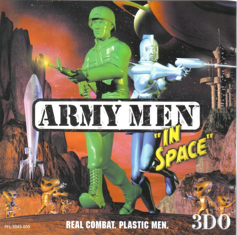 Army Men Toys In Space 1999 Windows Box Cover Art Mobygames