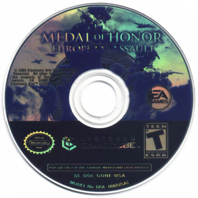 Medal of Honor: European Assault GameCube Media