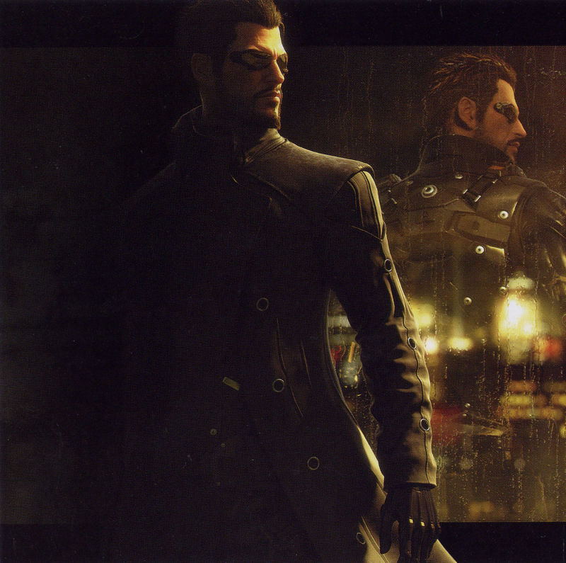 Deus Ex: Human Revolution Windows Inside Cover Front Left