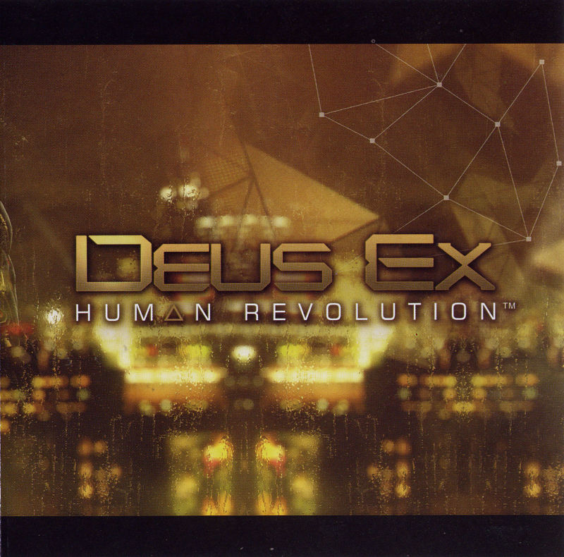 Deus Ex: Human Revolution Windows Inside Cover Front Right