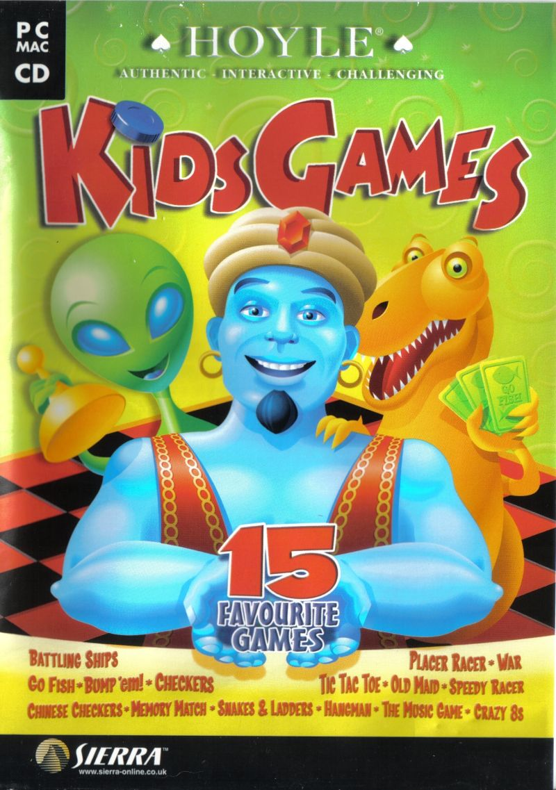 Games For 3 Year Olds: Hoyle Kids Games For Macintosh (2000)