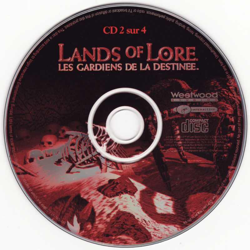 Lands of Lore: Guardians of Destiny DOS Media CD 2