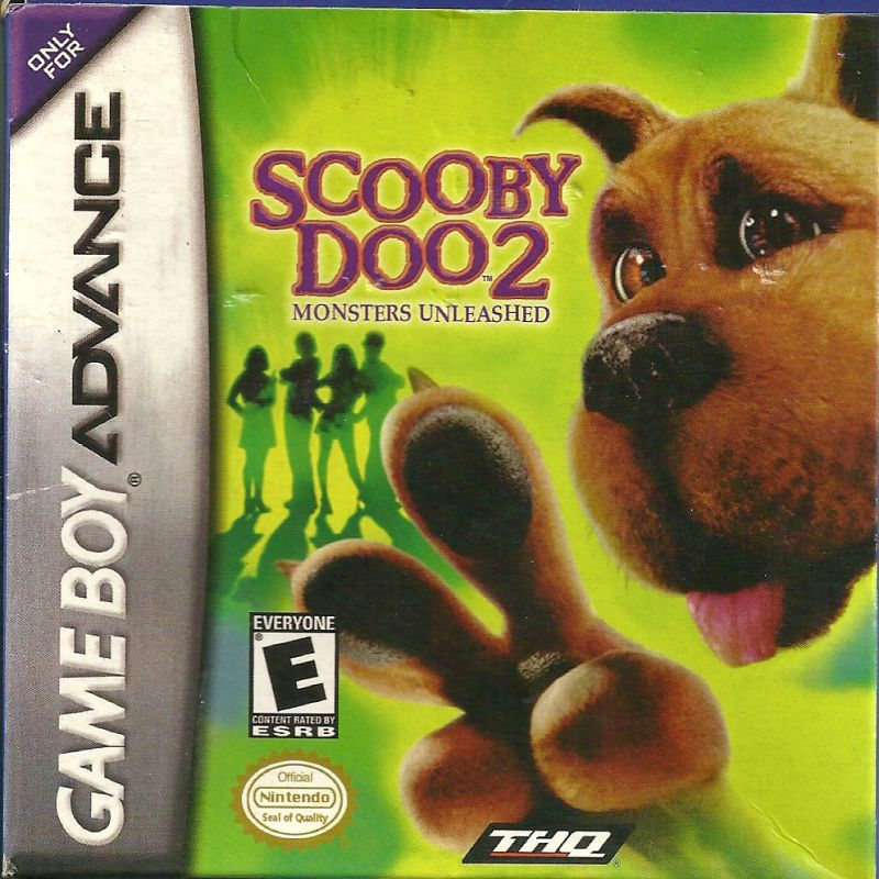 Scooby-Doo 2: Monsters Unleashed Game Boy Advance Front Cover