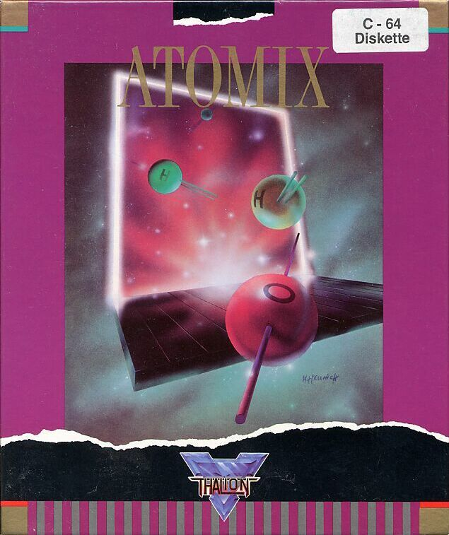 Atomix Commodore 64 Front Cover