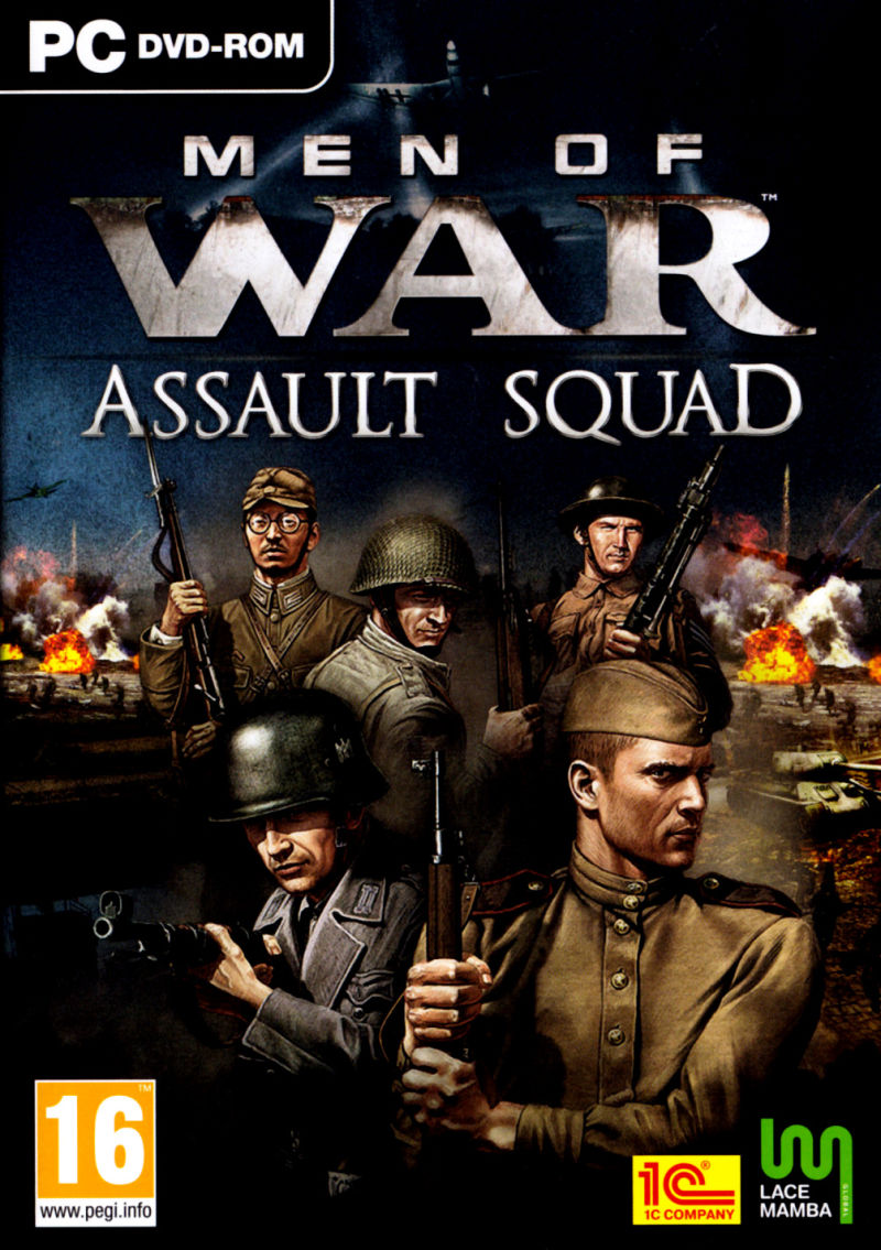 Men of War: Assault Squad Windows Other Keep Case - Front