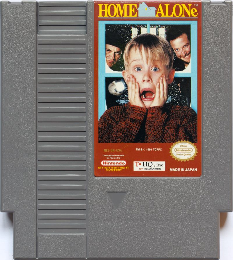 Home Alone NES Media