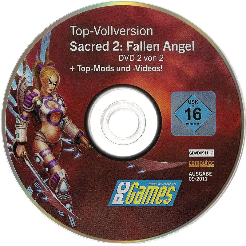 Sacred 2: Fallen Angel Windows Media DVD 2
