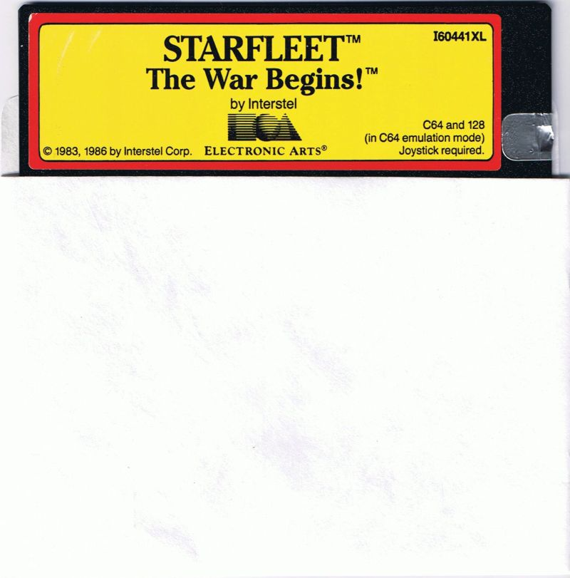 Star Fleet I: The War Begins! Commodore 64 Media