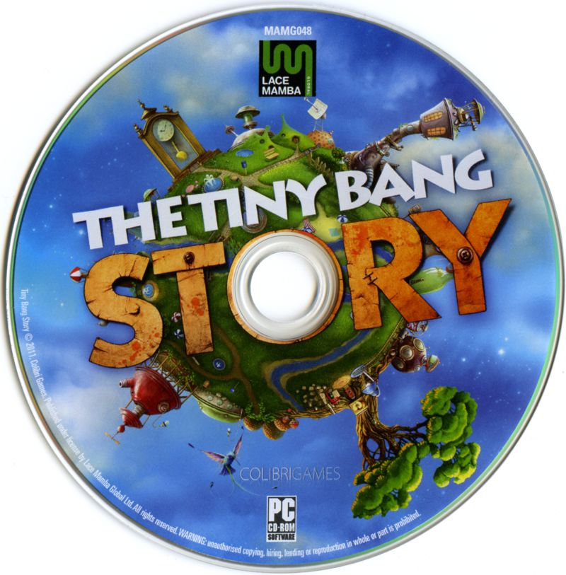 The Tiny Bang Story Windows Media Game Disc