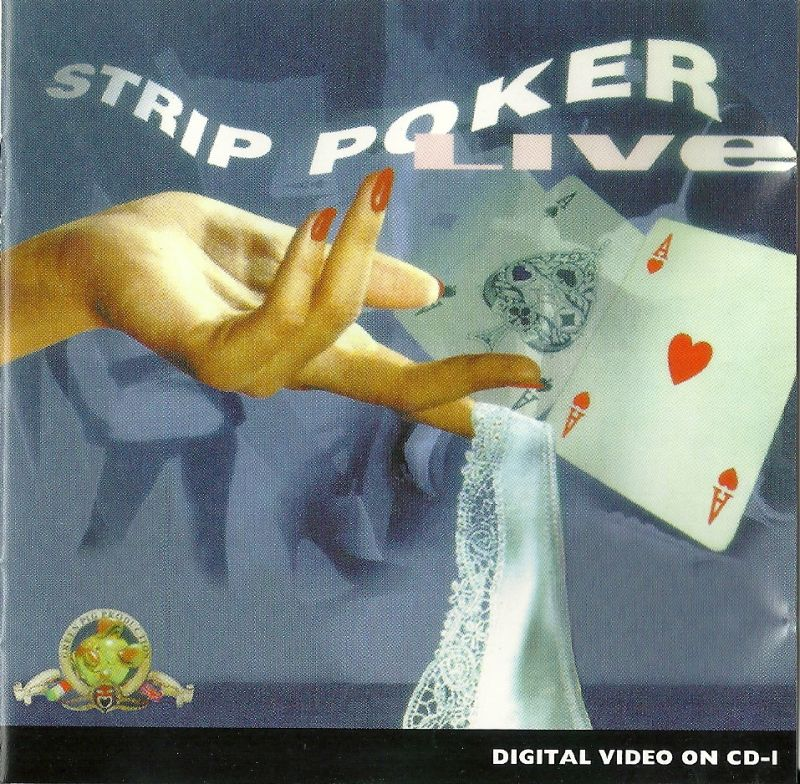 Strip Poker Live CD-i Front Cover