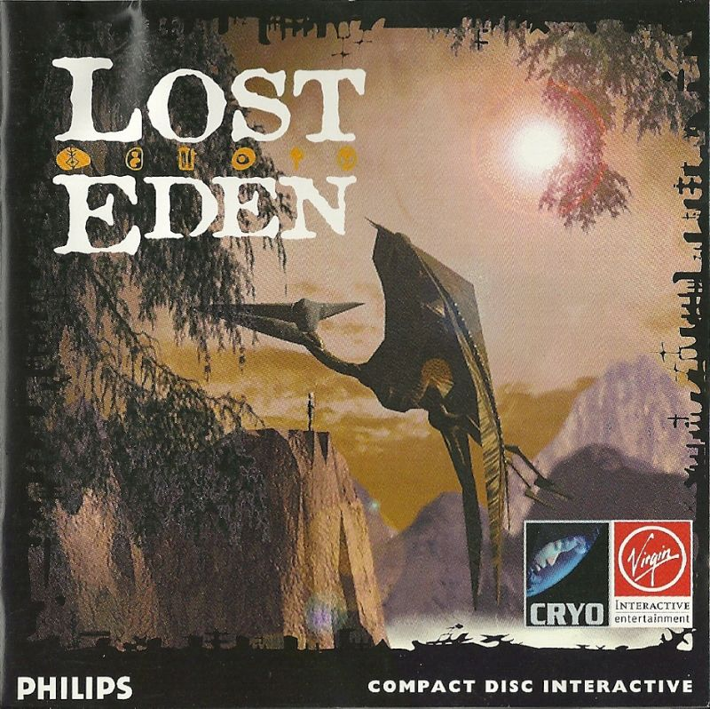 Lost Eden CD-i Front Cover