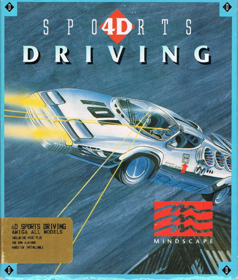 Stunts Amiga Front Cover