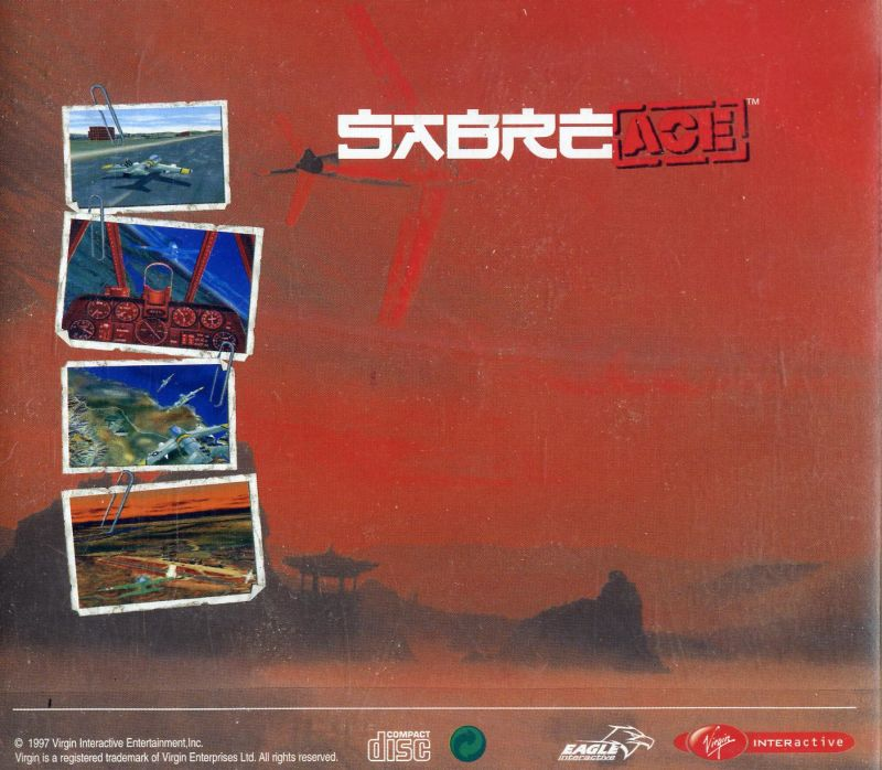 Sabre Ace: Conflict Over Korea Windows Other Jewel Case - Back