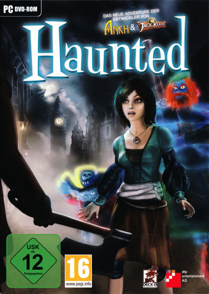 Haunted Windows Front Cover