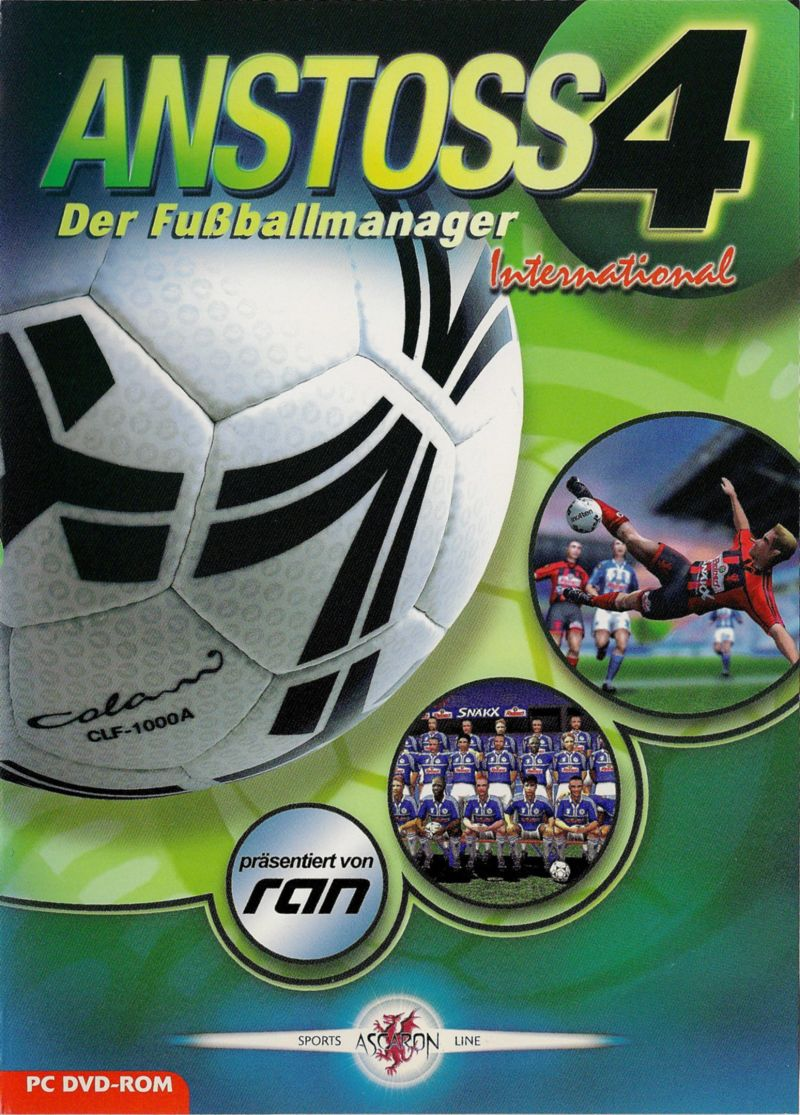 Anstoss 4 Der Fussballmanager International For Windows