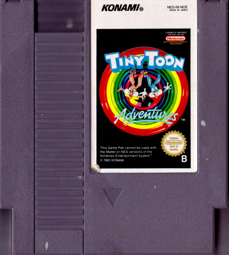 Tiny Toon Adventures 1991 Nes Box Cover Art Mobygames