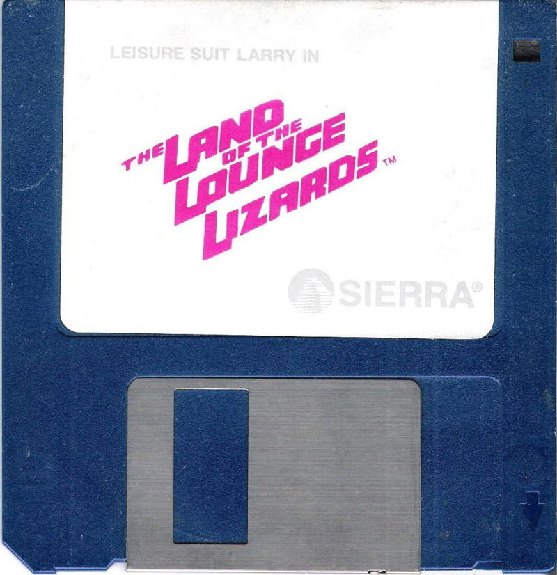 "Leisure Suit Larry in the Land of the Lounge Lizards DOS Media 3.5"" Disk (1/1)"